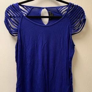 Forever twentyone royal blue top
